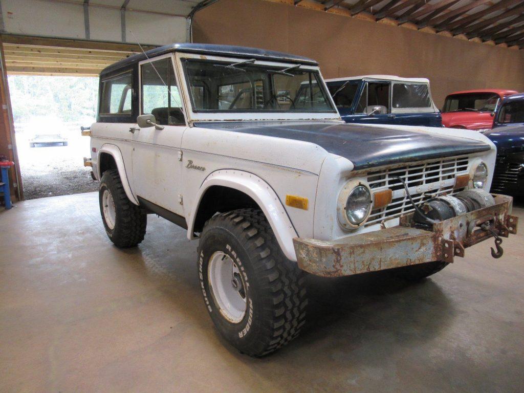 1975 Ford Bronco U15 barn find