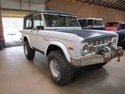 1975 Ford Bronco U15 barn find for sale