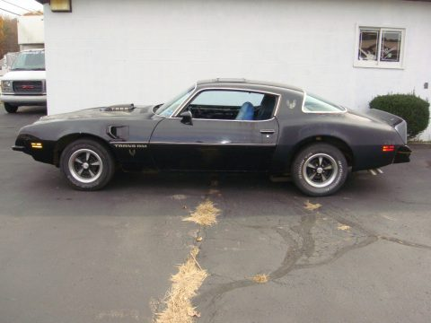 1975 Pontiac Trans Am 455 WS6 barn find for sale