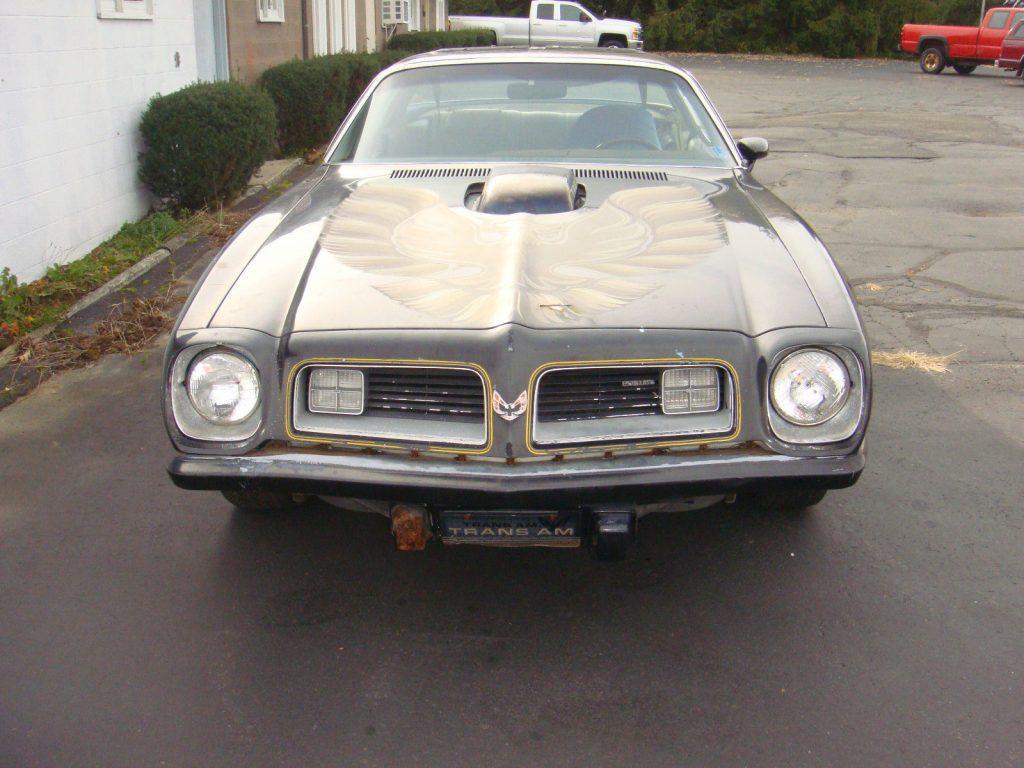 1975 Pontiac Trans Am 455 WS6 barn find