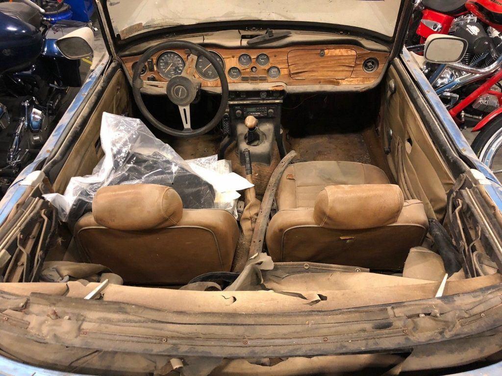 1976 Triumph TR6 barn find