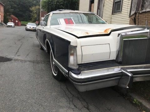 1979 Lincoln Continental MARK V barn find for sale