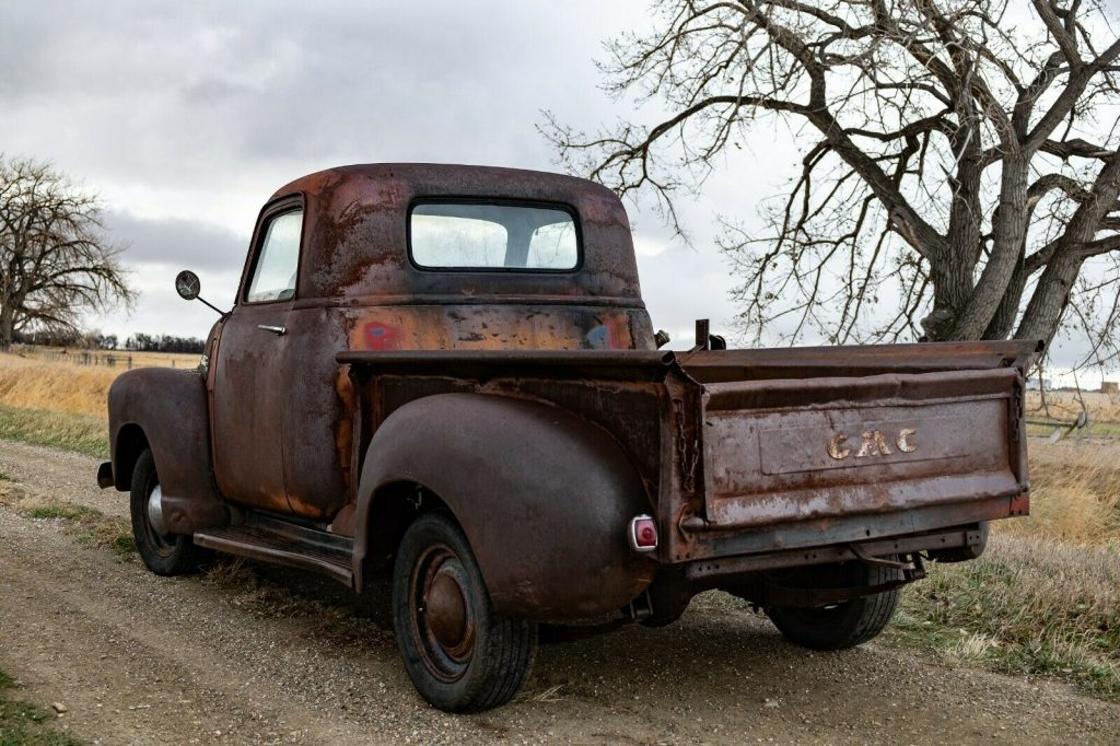 1949 Chevrolet 3100 GMC 100 Short Box Farm Truck Barn Find