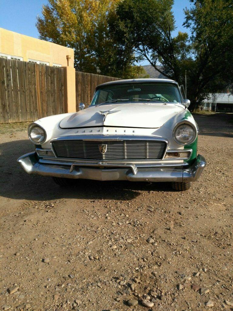 1956 Chrysler New Yorker Newport 2 dr Hardtop Barn find