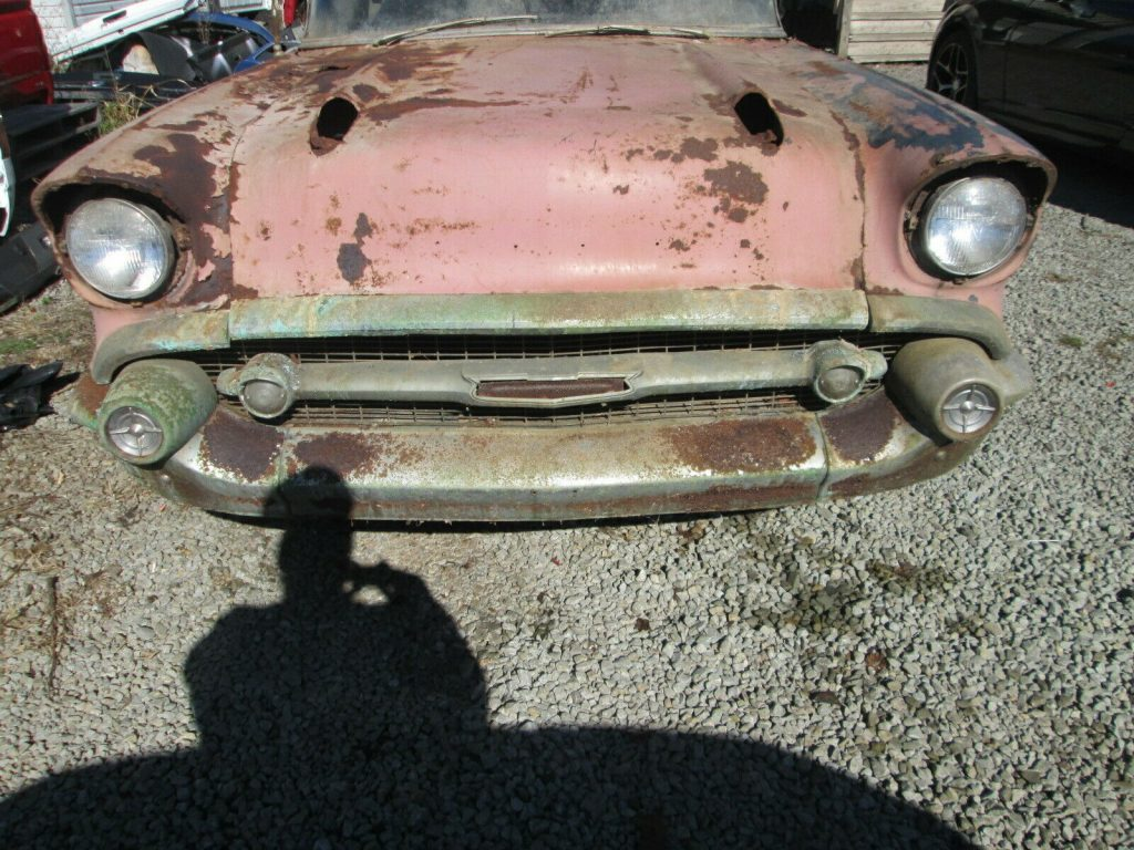 1957 Chevrolet Bel Air Barn find
