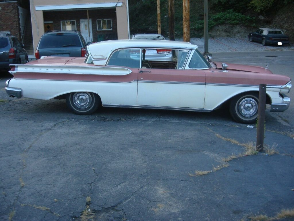 1957 Mercury Turnpike Cruiser 2Dr Barn Find