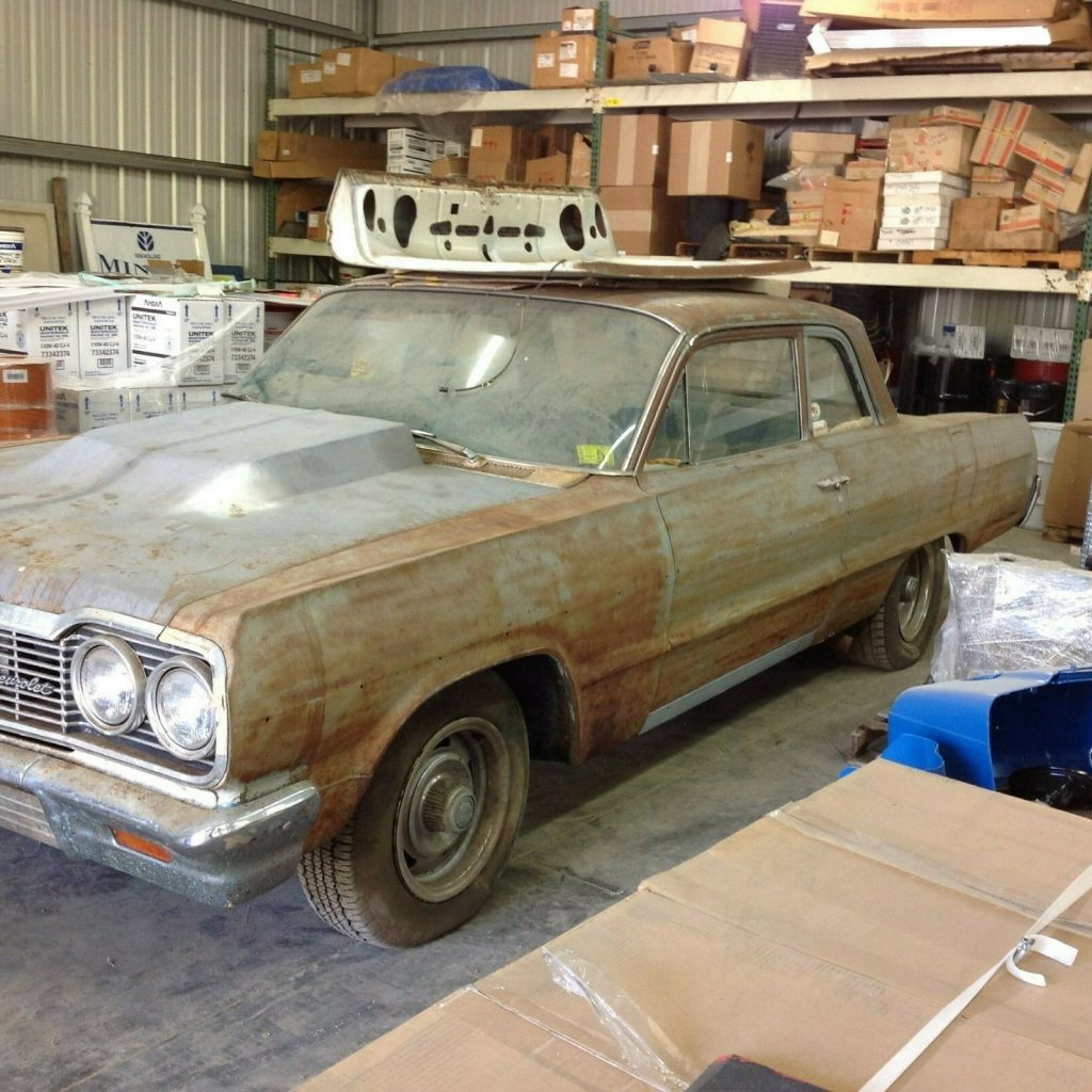 1964 Chevrolet Bel Air Two Door Barn Find