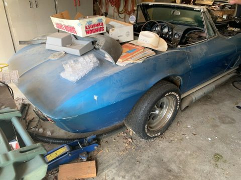 1965 Chevrolet Corvette Stingray Roadster Barnfind for sale