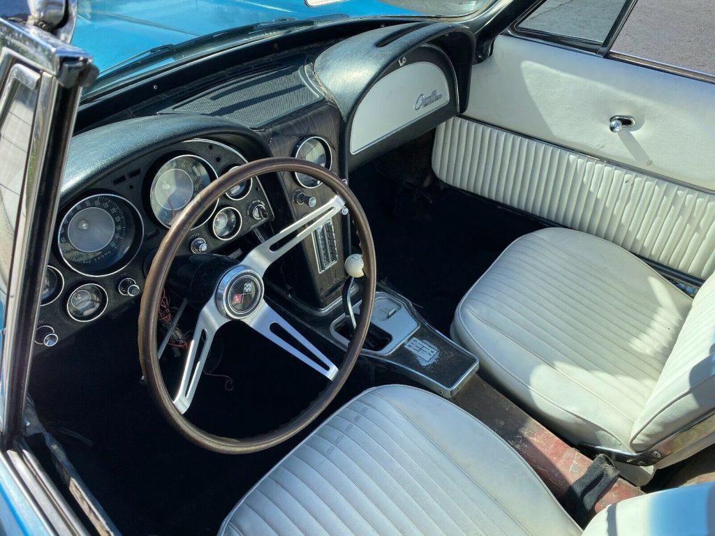 1965 Chevrolet Corvette Stingray Roadster Barnfind