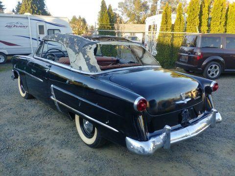 1953 Ford Crestline Sunliner Convertible Barn Find Unrestored 25k Original Miles for sale