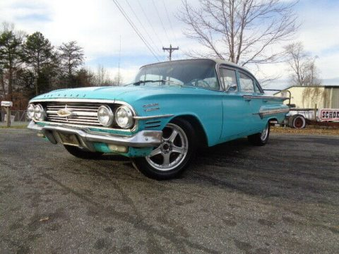 1960 Chevrolet Impala 4 door super solid barn find for sale