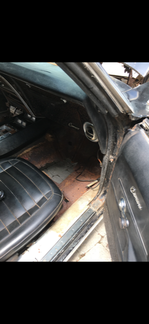 1968 Chevrolet Camaro SS Convertible Manual With Original 350 Engine Barn Find