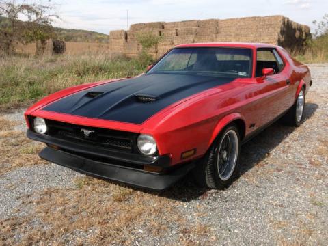 1972 Ford Mustang 5.8L 351C 2V Grande 72 351 Cleveland Antique barn find for sale