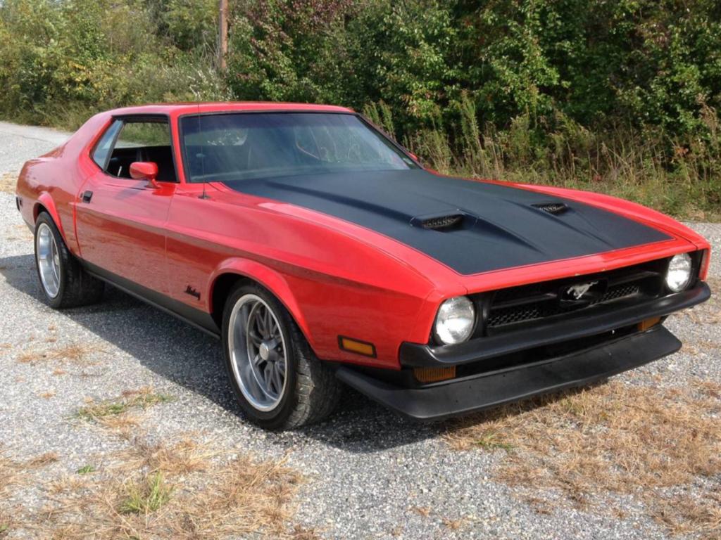 1972 Ford Mustang 5.8L 351C 2V Grande 72 351 Cleveland Antique barn find